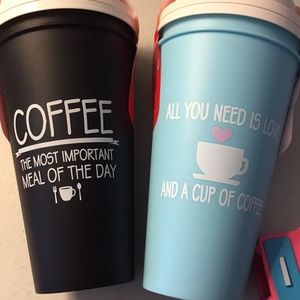 Other - 4 reusable plastic cups